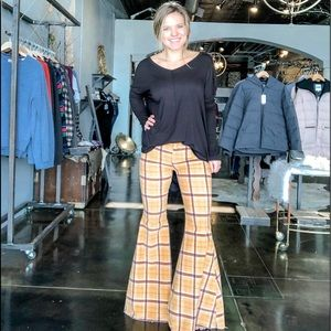 Free People Just float on bell bottoms